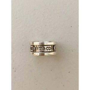 Tiffany & Co. Silver Ring, Size 6
